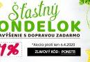Akcie: Štastný pondelok u Andreashop.sk – 11% z objednávky