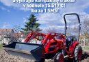 Vyhrajte kompaktný traktor v hodnote 15 517€