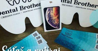 Vyhraj iPhone XS MAX a  2x celoročné bielenie zubov pre svojich kamošov 🦷👫