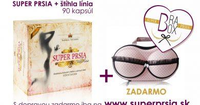 Akcia: Získajte zadarmo cestovný box pre uskladnenie podprsenky ku svojej objednávke výživového doplnku Super PRSIA + štíhla línia