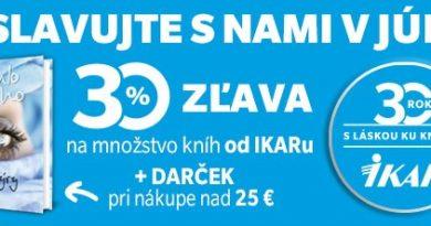 Akcia: IKAR je tu pre Vás už 30 rokov – 30% zľava na značku IKAR