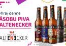 Súťaž o 5 x dennú cenu – zásobu pivných špeciálov Kaltenecker v hodnote 100 €