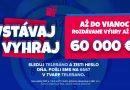 Vstávaj a vyhraj vianočné výhry vo výške 60 000 EUR s Teleránom a so spoločnosťou Tipos