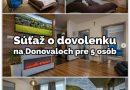 Súťaž o dovolenku v luxusnom apartmáne Apartmanica Panorama 35C