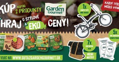 Hraj s Garden Gourmet o štýlové a eko ceny