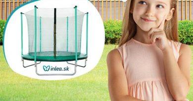 Súťaž o 2 skvelé záhradné FIT trampolíny od in-lea.sk
