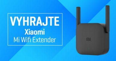Vyhrajte rozširovač Wi-Fi signálu Xiaomi