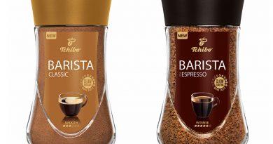 Súťaž o 3x Tchibo Barista a 10€ poukážky