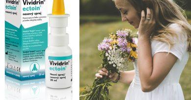 Súťaž o nosový sprej Vividrin ectoin