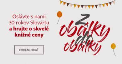 Veľká súťaž o 30 x 30 kníh od vydavateľstva Slovart – aj dnes s nápovedami od nás